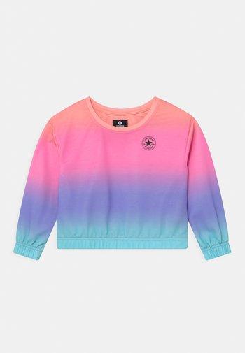 SUPER SOFT OMBRE BOXY CREW NECK - Sweater - multi-coloured
