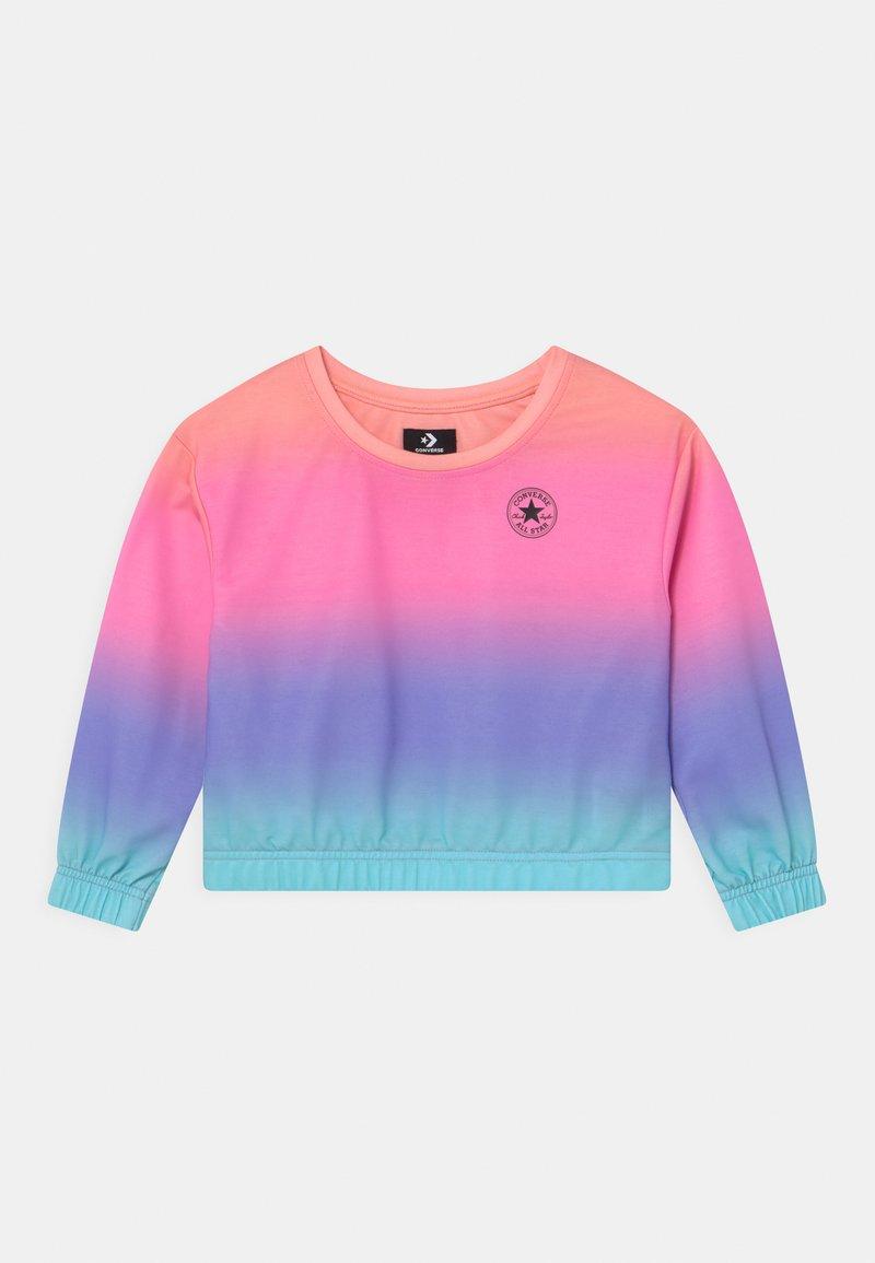 Converse - SUPER SOFT OMBRE BOXY CREW NECK - Sweatshirt - multi-coloured