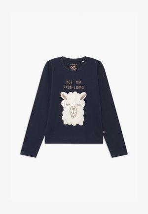 TEEN GIRLS - Langærmede T-shirts - navy blazer