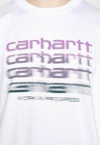 Carhartt WIP - MOTION SCRIPT - Printtipaita - white - 4