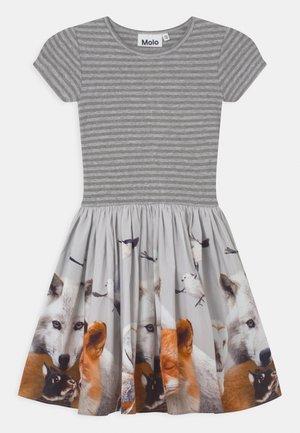 CISSA - Jersey dress - grey