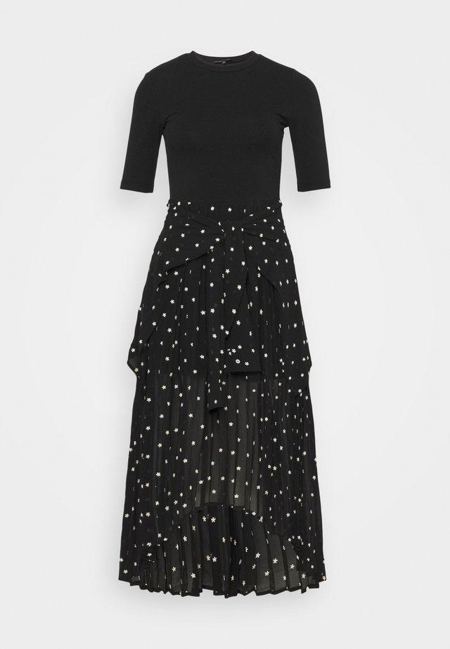 RIVOLO - Day dress - noir/blanc