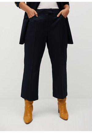 DEAN - Trousers - dark navy