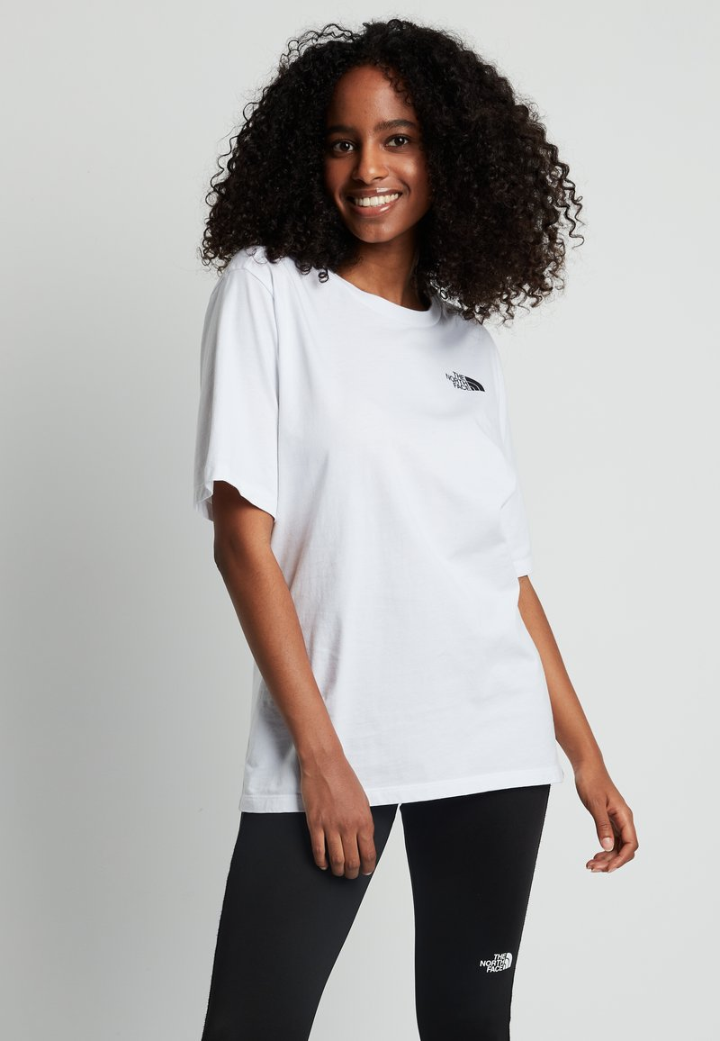 The North Face - SIMPLE DOME - Basic T-shirt - white