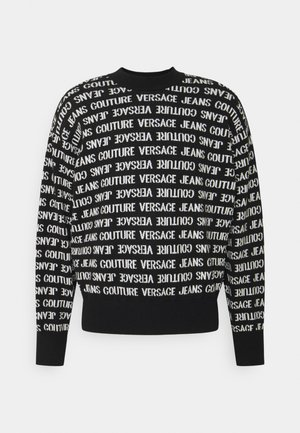 FILATO MIXED LETTERING  - Sweter - black