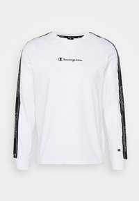 Champion - LEGACY TAPE LONG SLEEVE - Longsleeve - white