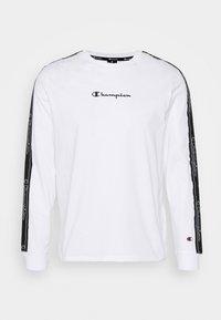 LEGACY TAPE LONG SLEEVE - Langærmede T-shirts - white