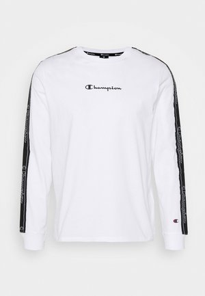 LEGACY TAPE LONG SLEEVE - Top s dlouhým rukávem - white