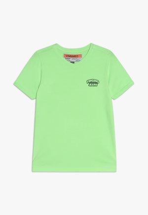 HANGU - Jednoduché triko - neon green