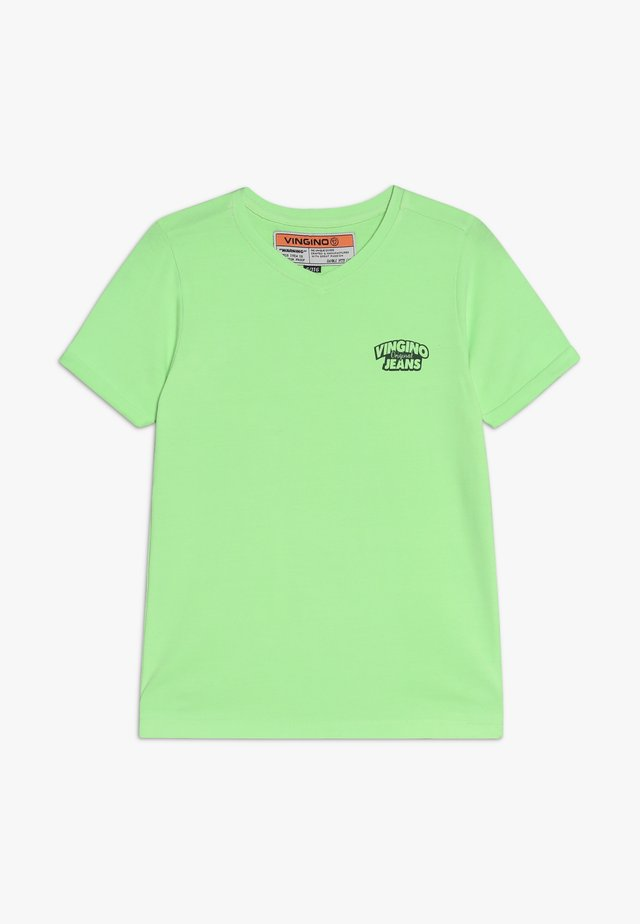 HANGU - Basic T-shirt - neon green