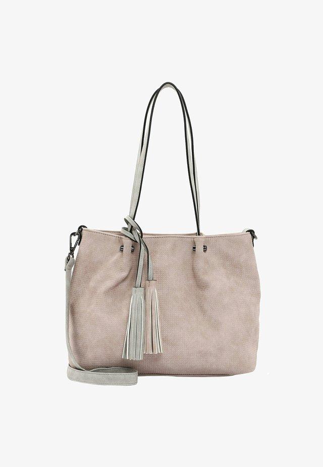 SURPRISE - Shopping bag - rose lightgrey 653