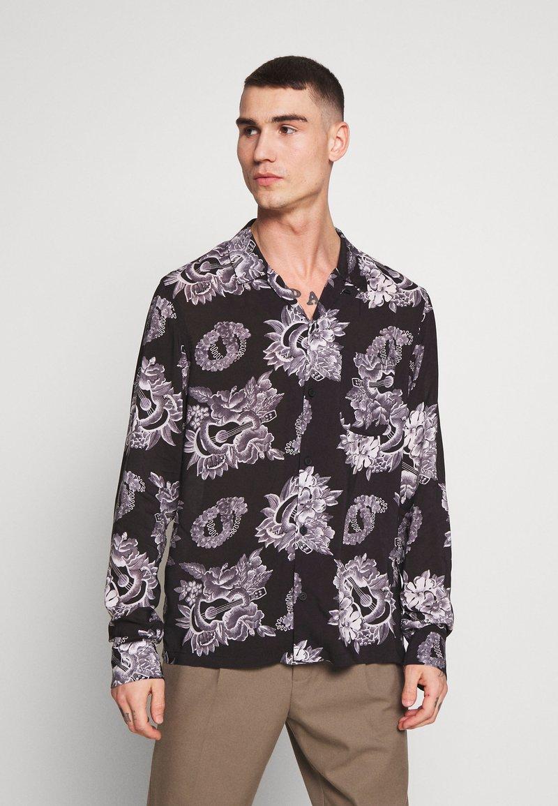 AllSaints - GARLAND - Shirt - black