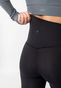 OGY Apparel - AMINTA GLEAM WORKOUT  - Leggings - Trousers - black - 2