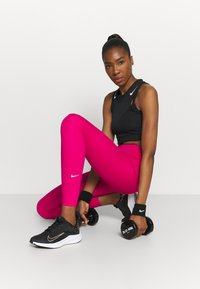 Nike Performance - ONE - Tights - fireberry/white - 1