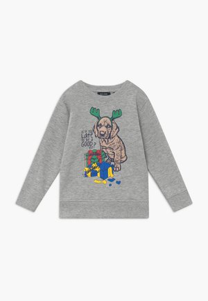 KIDS CHRISTMAS DOG  - Sweatshirt - nebel
