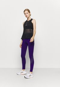 adidas by Stella McCartney - TRUEPACE - Medias - collegiate purple/black - 1