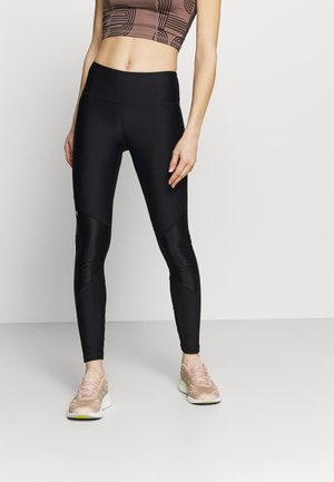 SHINE LEG - Collant - black
