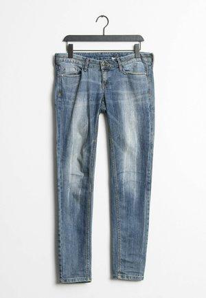 Jeansy Straight Leg - blue