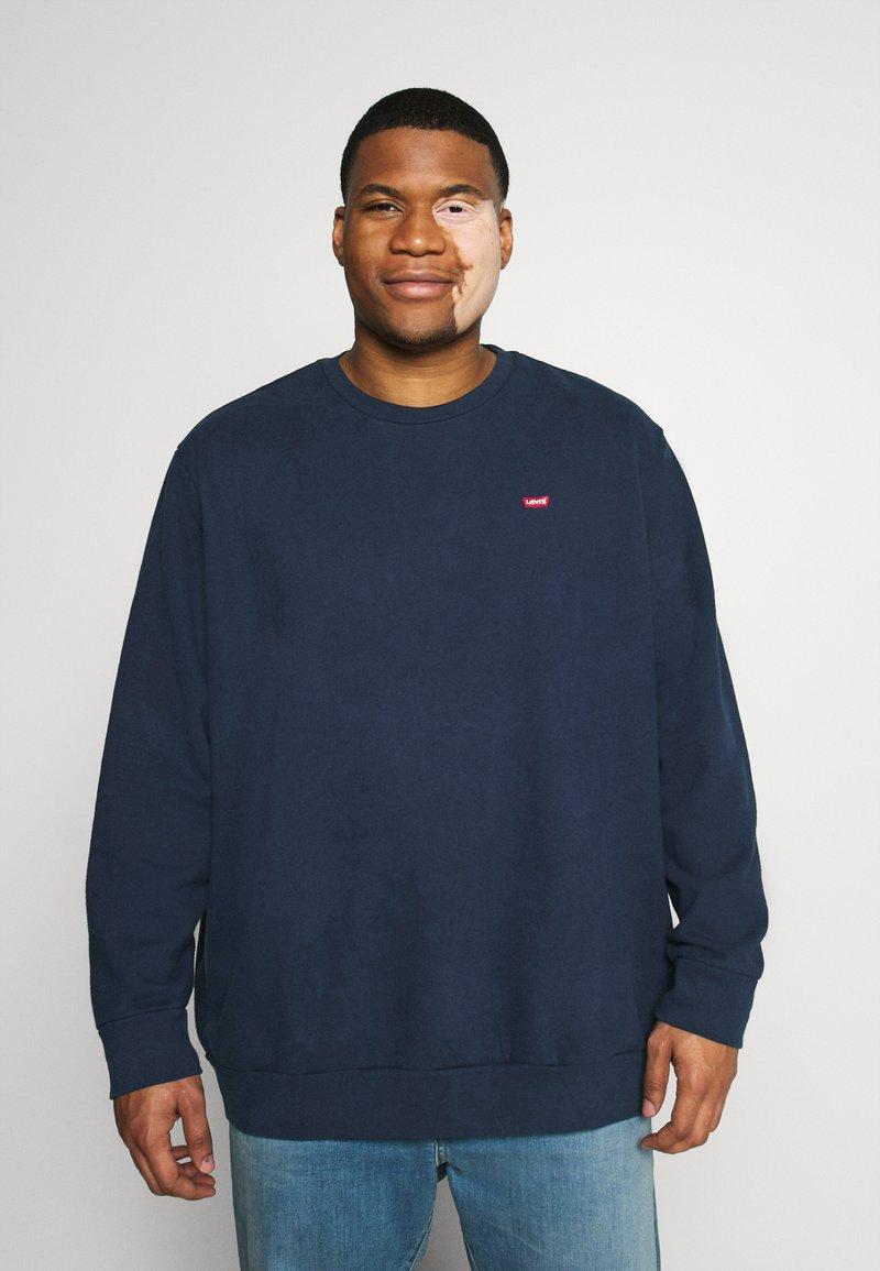 Levi's® Plus - BIG ORIGINAL CREW - Sweatshirt - blues