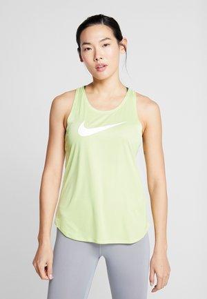 TANK RUN - T-shirt sportiva - limelight/white