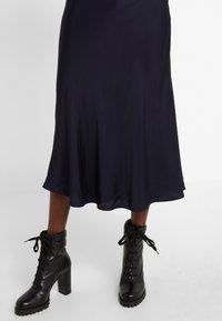 Bruuns Bazaar - BACA SKIRT - A-line skirt - dark navy - 5