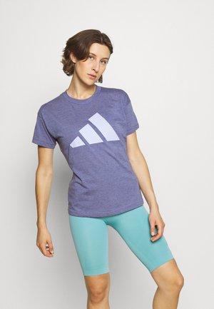 WIN 2.0 TEE - T-shirts med print - orbit violet melange