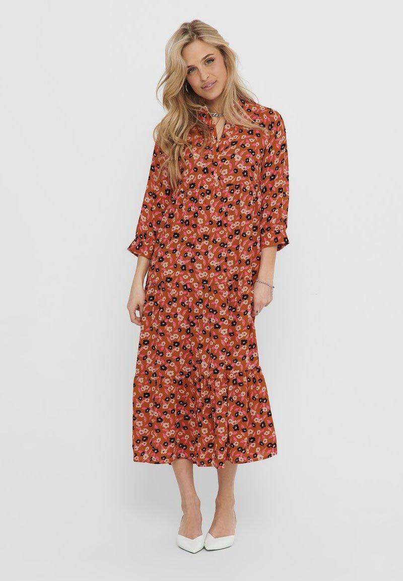ONLY - Korte jurk - rust