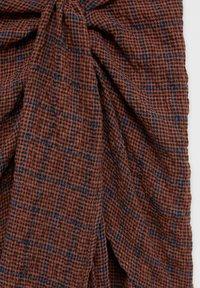 PULL&BEAR - Wrap skirt - orange - 6