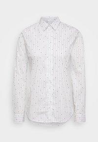 Seidensticker - Button-down blouse - white - 4