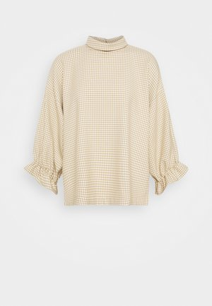 MARIANNE - Blouse - houndstooth cream