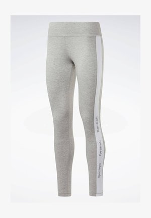 Training Essentials Linear Logo Leggings - Tights - Grey