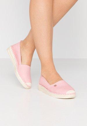 INES BASIC - Espadrilky - pink
