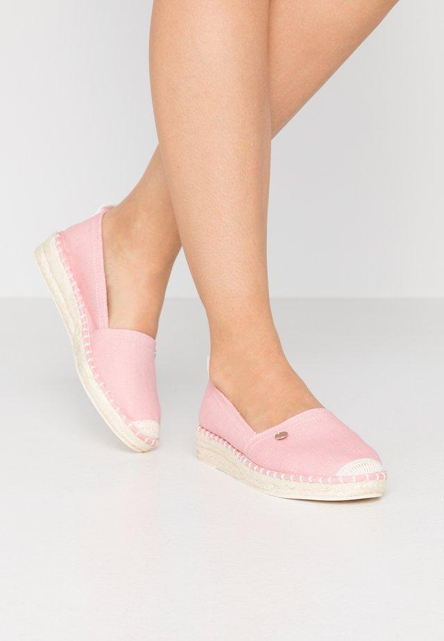 INES BASIC - Espadrillos - pink