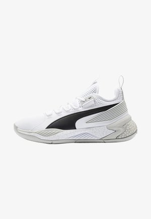 Basketbalschoenen - puma white-glacier gray