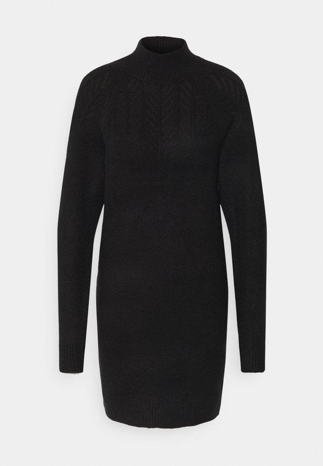 POINTELLE  - Gebreide jurk - black