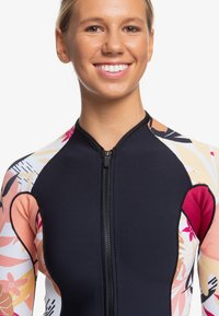 Roxy - 1MM POP SURF  - Rash vest - black/terra cotta - 4