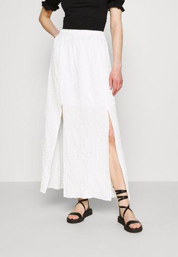 Maxi sukně - cream