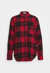 Hollister Co. - UPDATE - Blouse - red/black - 0