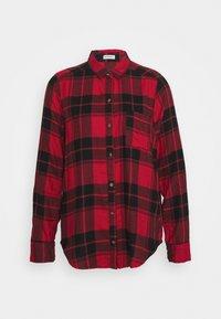 Hollister Co. - UPDATE - Bluse - red/black - 0