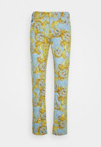 Versace Jeans Couture - BULL BAROQUE - Jeans slim fit - azzurro scuro - 4