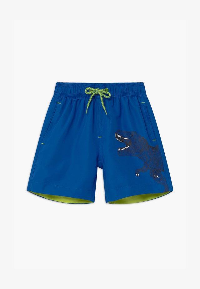 SMALL BOYS T-REX DINOSAUR - Swimming shorts - royal