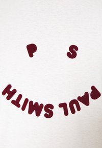PS Paul Smith - HAPPY - Print T-shirt - off white - 4