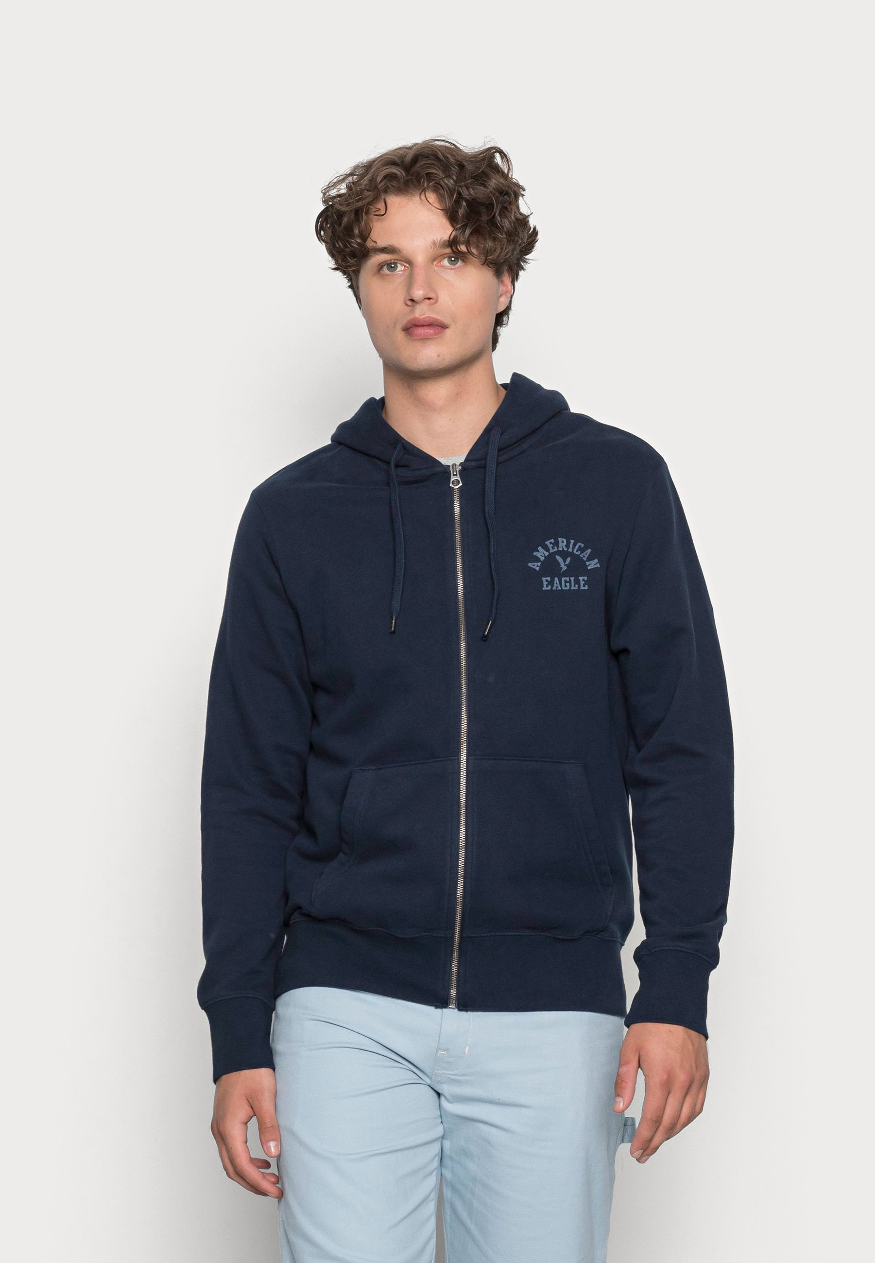 Men HERITAGE GRAPHIC - Zip-up sweatshirt