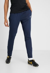 Nike Performance - DRI-FIT ACADEMY19 - Tracksuit bottoms - obsidian/white - 0