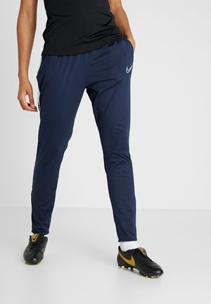 DRI-FIT ACADEMY19 - Tracksuit bottoms - obsidian/white