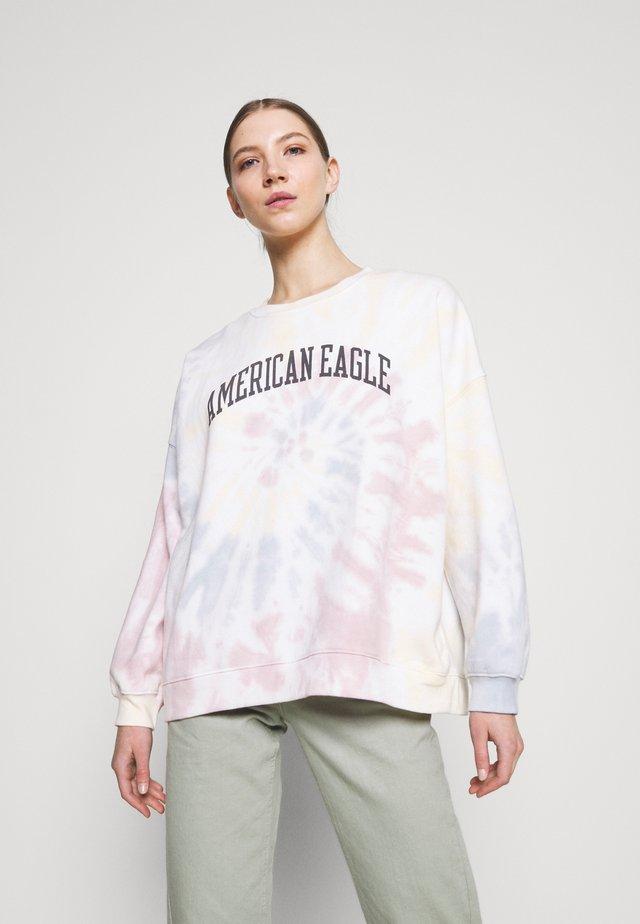 BRANDED CREW - Sweatshirt - multi