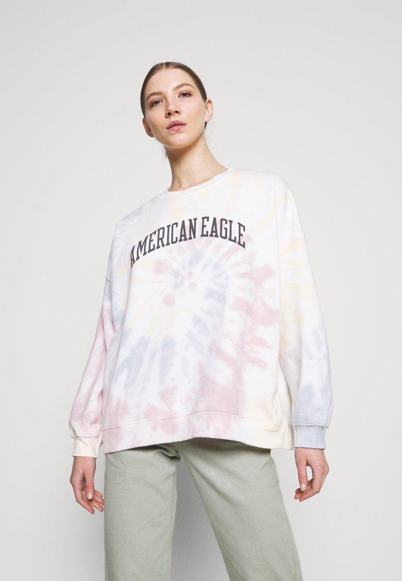 American Eagle - BRANDED CREW - Sweatshirt - multi