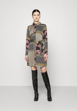 VIJOSE BLUME DRESS - Shirt dress - black