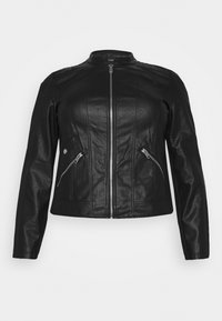 Vero Moda Curve - VMKHLOE   - Faux leather jacket - black - 5