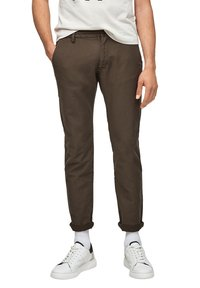 s.Oliver - Chinos - olive - 6